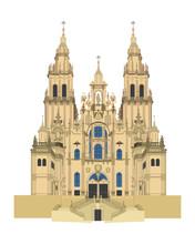 Santiago De Compostela Cathedr...