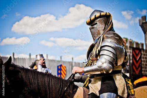 Fotografie, Obraz  Knights tounament