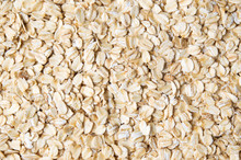 Oat Flakes Forming A Background Pattern