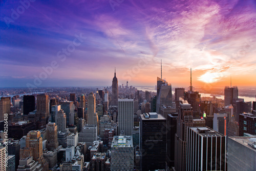 New York city landscapes Poster