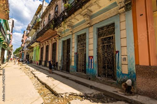 Photo  Havana, Cuba - March 26, 2016: Streets of Havana, Cuba