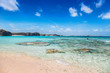 Beautiful and remote beach at Mudjin Harbor, Middle Caicos, Turks and Caicos Islands