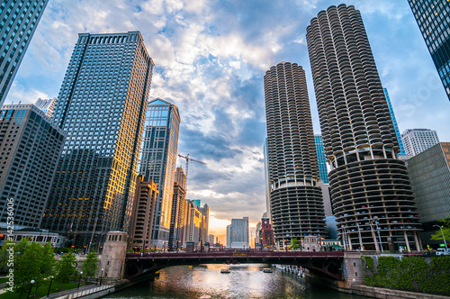 Photo sur Toile Chicago Chicago