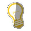 Bulb electric energy icon vector illustration graphic design