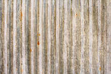 Old Rusty Metal Sheet Roof Tex...