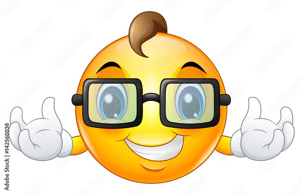 emoticon emoticon zonnebril