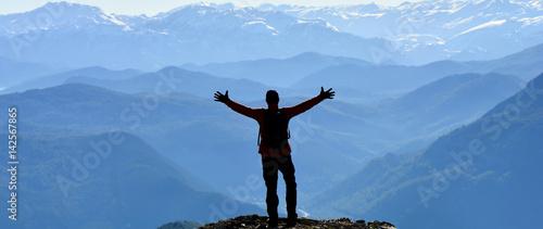 Poster Mountaineering Mutluluk