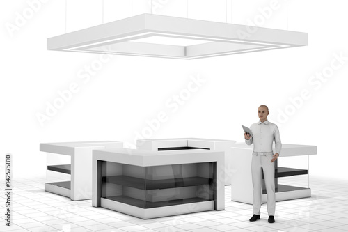Exhibition Stand Tables : Exhibition furniture trade show event display furniture