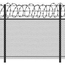 Prison Privacy Metal Fence Wit...