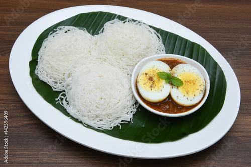Kerala Food Idiyappam
