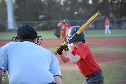Plakat Baseball game Leworęczny ciasto