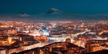Night In Yerevan, Armenia From...
