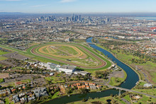 Aerial View Of Flemington Race...