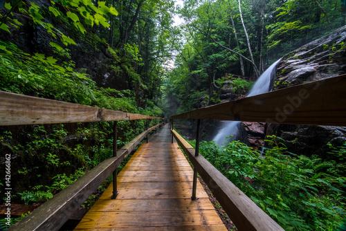 Fototapeta premium Wodospady w New Hampshire