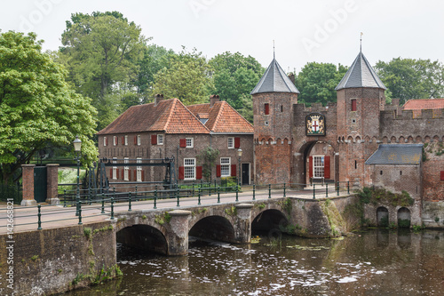 Medieval fortifications of Amersfoort, Netherlands Canvas Print
