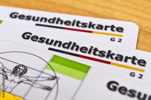 Photo  Gesundheitskarte G2