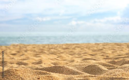 Staande foto Strand sand beach