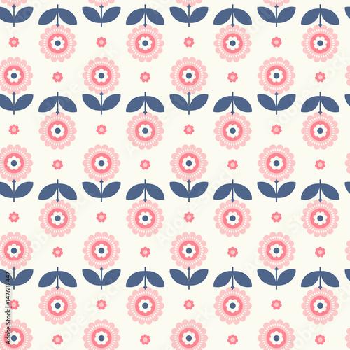 retro-wzor-z-kwiatami