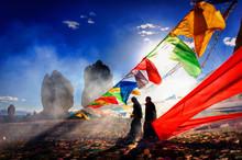 China, Tibet,16.09.2007 Feast ...