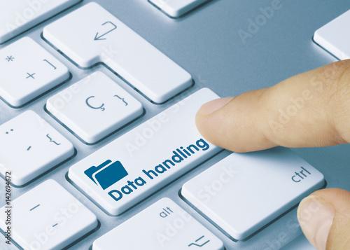 Fotografie, Obraz  Data handling