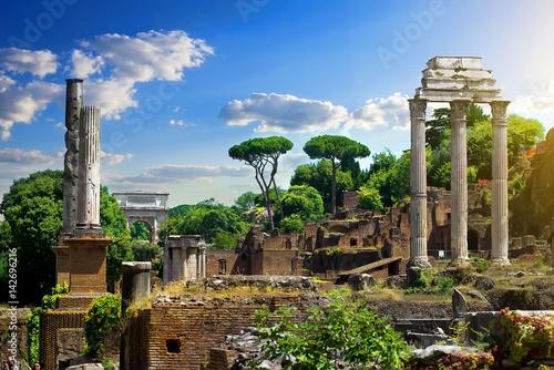 Fotografia Ruined Roman Forum