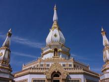 Pagoda In Wat Pha Nam Yoi Roi Et Thailand