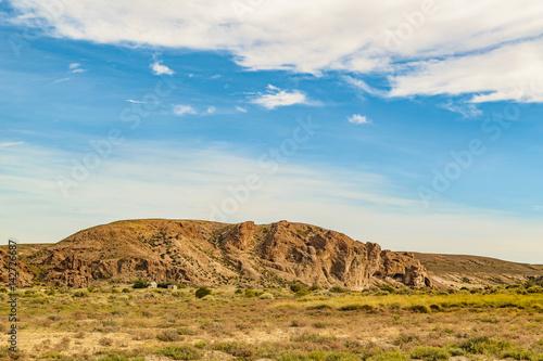 Foto op Aluminium Blauw Miradores de Darwin Landscape, Argentina