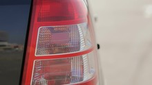 Car Turning Lights Is On.flash...