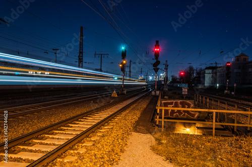 Plakat Stacja kolejowa Essen West