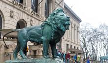 Chicago Lion Statue