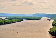 A Channel Of The Mississippi R...