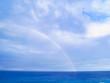 グアム タモンビーチ 虹