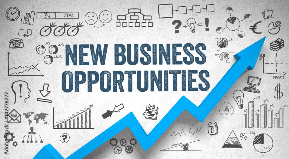 Fototapety, obrazy: new business opportunities  / Wall / Symbols / Arrow
