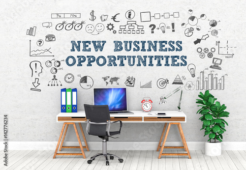 Fototapeta new business opportunities / Office / Wall / Symbol obraz