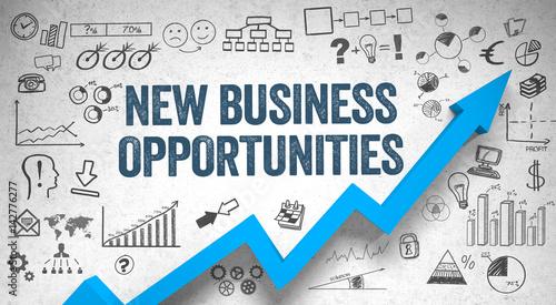 Fototapeta new business opportunities  / Wall / Symbols / Arrow obraz