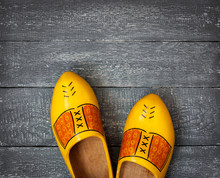Wooden Shoes Of The Netherlands