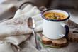 canvas print picture - Sweet potato soup