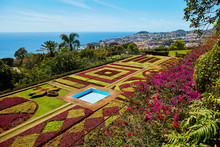 Famous Botanical Garden In Funchal, Madeira, Portugal