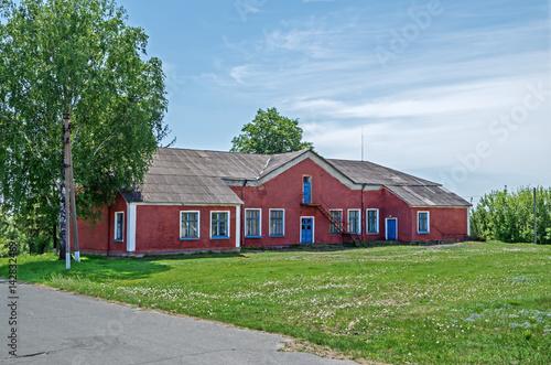 Fotografie, Obraz  Rustic clubhouse