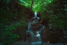 Waterfall In Long Exposure In ...