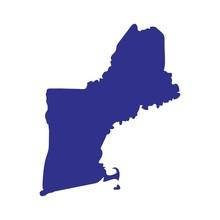 New England Logo Vector.