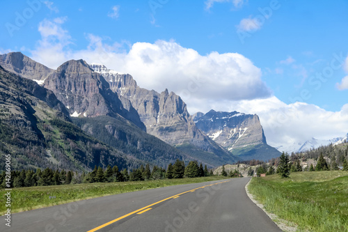 Fotografie, Obraz  Glacier National Park