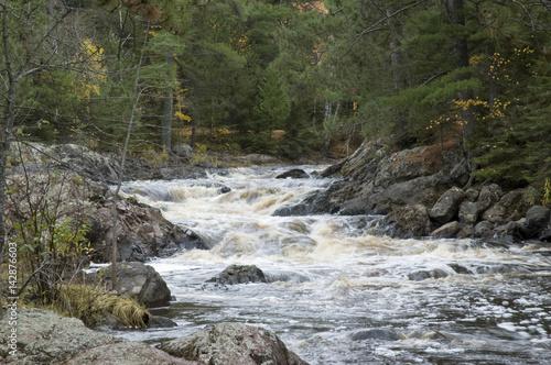 Foto op Aluminium Rivier Amnicon River