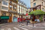 Fototapeta Uliczki - Montmartre in Paris
