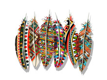 American Indian Feathers