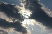 太陽と雲「空想・太陽...