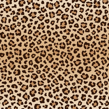 Seamless Animal Leopard Patter...