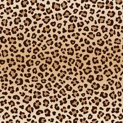 FototapetaSeamless animal leopard pattern, vector