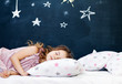 canvas print picture - Young child sleeping
