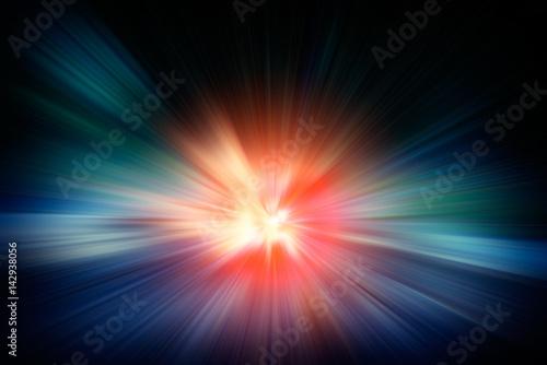 Fotografia, Obraz star light effect